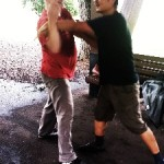 March: Push Hands in the Park