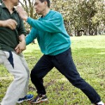 June: Push Hands in the Park